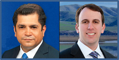 Assemblymembers Jimmy Gomez and Marc Levine, authors of AB&nbsp;14, the 2017 <i>California DISCLOSE Act</i>