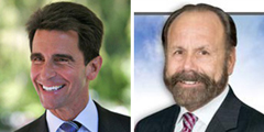Senators Mark Leno and Jerry Hill