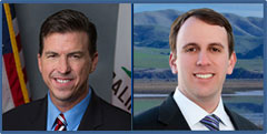 Assemblymembers Kevin Mullin and Marc Levine, authors of AB&nbsp;249, the <i>California DISCLOSE Act</i>
